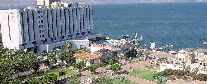 בתי מלון בטבריה